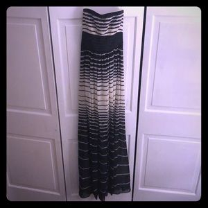 BCBG floor length gown. Size 2